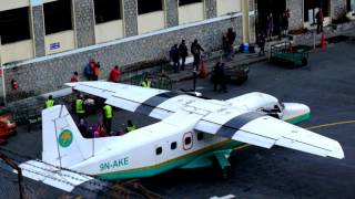 Download globalgilroy - Lukla Airport - Nepal - 2 of 3 - morning arrival & departures Video