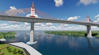Download โครงการสะพานข้ามแม่น้ำเจ้าพระยา บริเวณ อำเภอพระสมุทรเจดีย์ และถนนเชื่อมต่อ Video