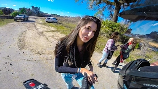 Download SUPERMOTO PICKS UP GIRLS!! Video