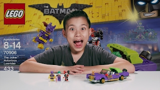Download THE JOKER NOTORIOUS LOWRIDER - The LEGO Batman Movie Set 70906 Time-lapse, Unboxing & Review Video