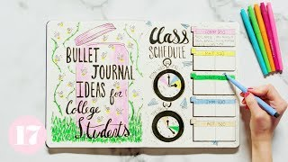 Download Bullet Journal Ideas For College Students | Plan With Me Video