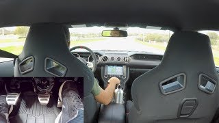 Download POV Drive With Pedals View - Shelby GT350 Ford Mustang Video