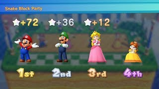 Download Mario Party 10 Mario Party #66 Mario vs Peach vs Luigi vs Daisy Chaos Castle Master Difficulty Video