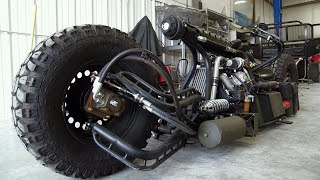 Download This Diesel Motorcycle Is Built From Everything... Including The Kitchen Sink Video