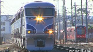 Download Amtrak, Coaster & BNSF Trains in San Diego, CA (May 18th, 2013) Video