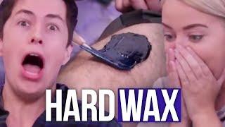 Download We Hard Waxed His LEGS!? (Beauty Break) Video
