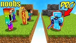 Download 8 NOOBS VS 1 PROFESSIONAL! (Minecraft BED WARS) Video