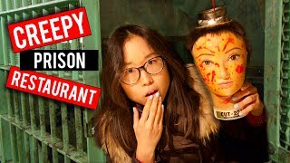 Download Japanese PRISON THEMED Restaurant in Tokyo Video