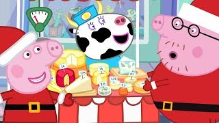 Download Peppa Pig Official Channel 🎄Peppa at Christmas Market🎄 Video