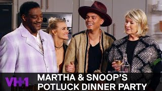 Download Snoop Dogg Invites His Uncle Rio To The Kitchen 'Sneak Peek' | Martha & Snoop's Potluck Dinner Party Video