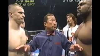 Download BOB SAPP VS. MIRKO CRO COP - Dream Elite Throwdown of the Week Video
