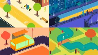 Download Future of Urban Mobility animation Video