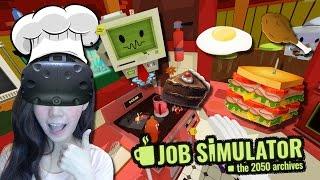 Download [HTC VIVE] เชฟเกรียนขั้นเทพ เมนูเด็ดพิซซ่าแห่งอนาคต | job simulator [zbing z.] Video