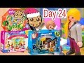 Download Polly Pocket, Playmobil Holiday Christmas Advent Calendar Day 24 Toy Surprise Opening Video Video