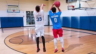 Download KEVIN DURANT VS RUSSELL WESTBROOK 1V1 BASKETBALL CHALLENGES Video
