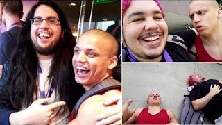 Download Tyler1 Meets Imaqtpie & Greekgodx IRL for the First Time! | LoL Moments Video