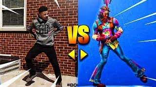 Download ALL *NEW* FORTNITE DANCES/EMOTES IN REAL LIFE! [UPDATED] Video