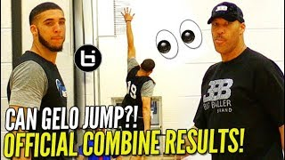 Download LiAngelo Ball NBA Pre-Draft OFFICIAL COMBINE TESTING RESULTS! 35″+ VERTICAL?!! Video