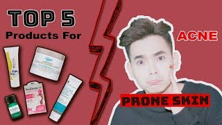 Download Top 5 Sản Phẩm Trị Mụn Hiệu Quả ♡ Products For Ance Prone Skin ♡ DungOiDungA Video