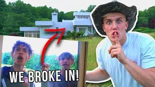 Download I BROKE INTO THE DOBRE BROTHERS HOUSE!! Video