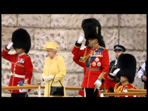 Trooping the Colour - Part 1/3 - June 2012