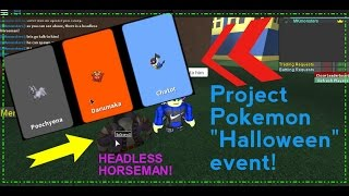 Download Roblox: Project Pokemon: Headless Horseman update! Video