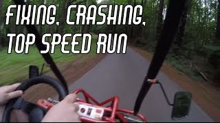 Download Fixing, Crashing, and Top Speed Run with the Offroad Kart Video