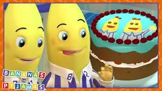 Download Let's BAKE Bananas | Cartoons for Kids | Bananas In Pyjamas Video