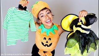 Download TRYING ON BABY COSTUMES!! HALLOWEEN FETUS. Video