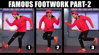 Download 3 Famous Dance Moves Part - 2 | Footwork Tutorial in Hindi | Simple Hip Hop Steps For Beginners Video