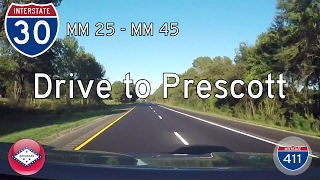Download Interstate 30 - Mile 25 - Mile 45 - Arkansas | Drive America's Highways 🚙 Video