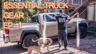 Download Essential Truck Gear - Episode 1 - Mods, Gear, Accessories (2016 Tacoma) Video