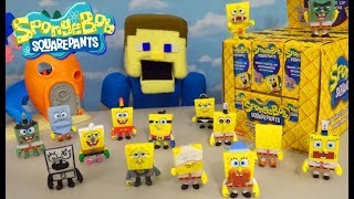 Download SPONGEBOB Squarepants ARMY of FIGURES!! The Many Faces of Blind Box Mystery Unboxing WAR! Video