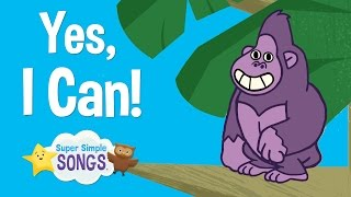 Download Yes, I Can! | Animal Song For Children | Super Simple Songs Video