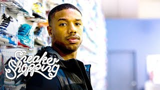 Download Michael B. Jordan Goes Sneaker Shopping With Complex Video