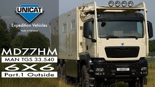 Download UNICAT Expedition Vehicles - Part 1 External MD77H MAN TGS 33.540 - 6X6 Video