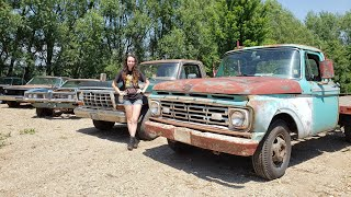 Download Fixing and Driving the Revival Trucks Video