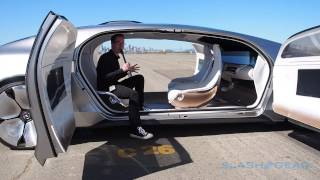 Download Mercedes Benz F 015 Walkthrough (live coverage in SF) Video