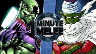 Download One Minute Melee S4 EP9 - Piccolo vs Martian Man Hunter (DBZ vs DC) Video