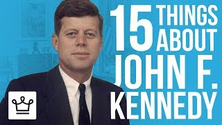 Download 15 Things You Didn't Know About John F. Kennedy Video