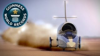 Download The 1,000mph Car, Inside Bloodhound SSC - Guinness World Records Video