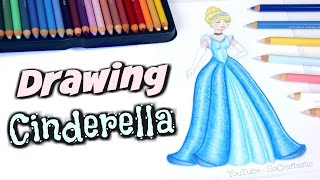 Download How to Draw Disney Princesses | SoCraftastic Video