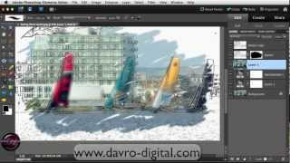 Download Painterly sketch effect in Photoshop Elements Video