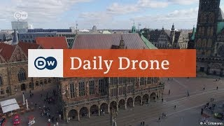 Download #DailyDrone: Bremen | DW English Video