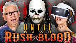 Download SCARY CLOWNS! | Until Dawn: Rush of Blood (PSVR | Elders React Gaming) Video