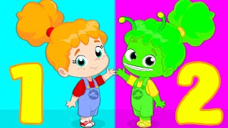 Download Groovy The Martian | How many Phoebes do you see? Let's learn to count from 1 to 10 for kids! Video