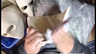 Download How to Make a Cool Resin Fiberglass Mask for Airsoft, Cosplay Video