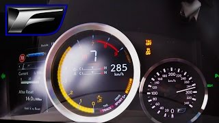 Download Lexus GS F 2016 ACCELERATION & TOP SPEED on AUTOBAHN - 5.0 V8 477 HP Video