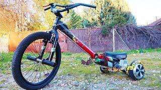 Download Como Hacer un Trike a Motor Casero | 2 Motores Electricos (Bicicleta BMX + Hoverboard) Video