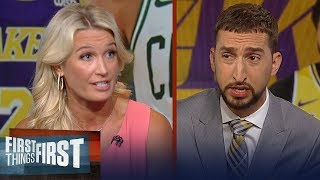 Download Celtics made the right decision not trading Tatum for AD - Sarah Kustok | NBA | FIRST THINGS FIRST Video